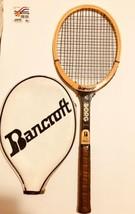 Rare Vintage Bjorn Borg Wooden Tennis Racquet Bancroft Wimbledon US Open - $296.99
