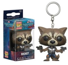 Funko Pop! Guardians Of The Galaxy Rocket ActionFigure Keychain - $11.48