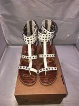 Sam Edelman Gladiator sandal size 10 m us  white - $34.65