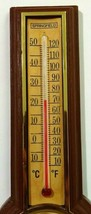 Springfield Instrument Co Thermometer Humidity Brown Plastic Made in USA image 2