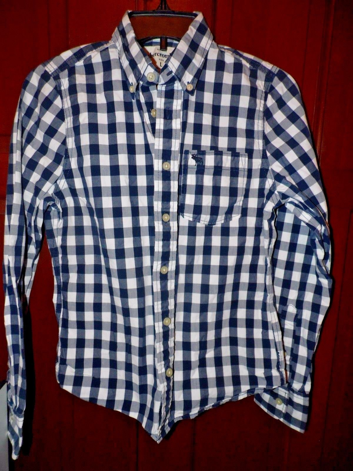 23b6a34b Boy's Abercrombie Kids Muscle LS Button Down and 22 similar items