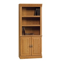 Bookcases And Shelves With Doors Library Office Home Bookshelf Cupboard ... - $218.58