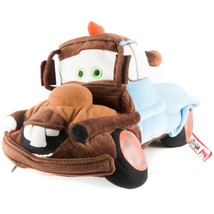 "Cars Tow Mater Pillow Plush 15"" Disney Pixar Tow Truck Brown Blue Stuffe... - $35.53"