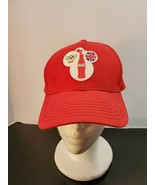 Coca-Cola Olympics Worldwide Partners Red Hat - features British Flag - $18.24