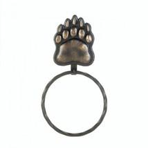Iron Bear Paw Towel Ring - $14.99