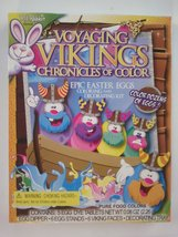 Voyaging Vikings Chronicles of Color Epic Easter Eggs Coloring and Decor... - $4.95