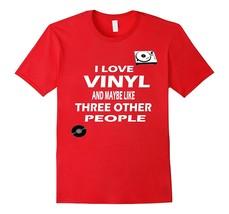 Vintage Records Vinyl Albums T Shirt Gift LP Records Shirt Men - $17.95+