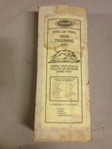 Primary image for Vintage National Bird or Trail Dog Training Kit (d33)