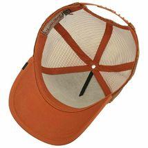 Goorin Bros Snapback Mesh Cap Rust Brown Wiener Dawg Dog Trucker Hat 101-0622 image 5