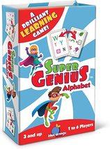 Blue Orange Super Genius - Alphabet Card Game  - $12.99