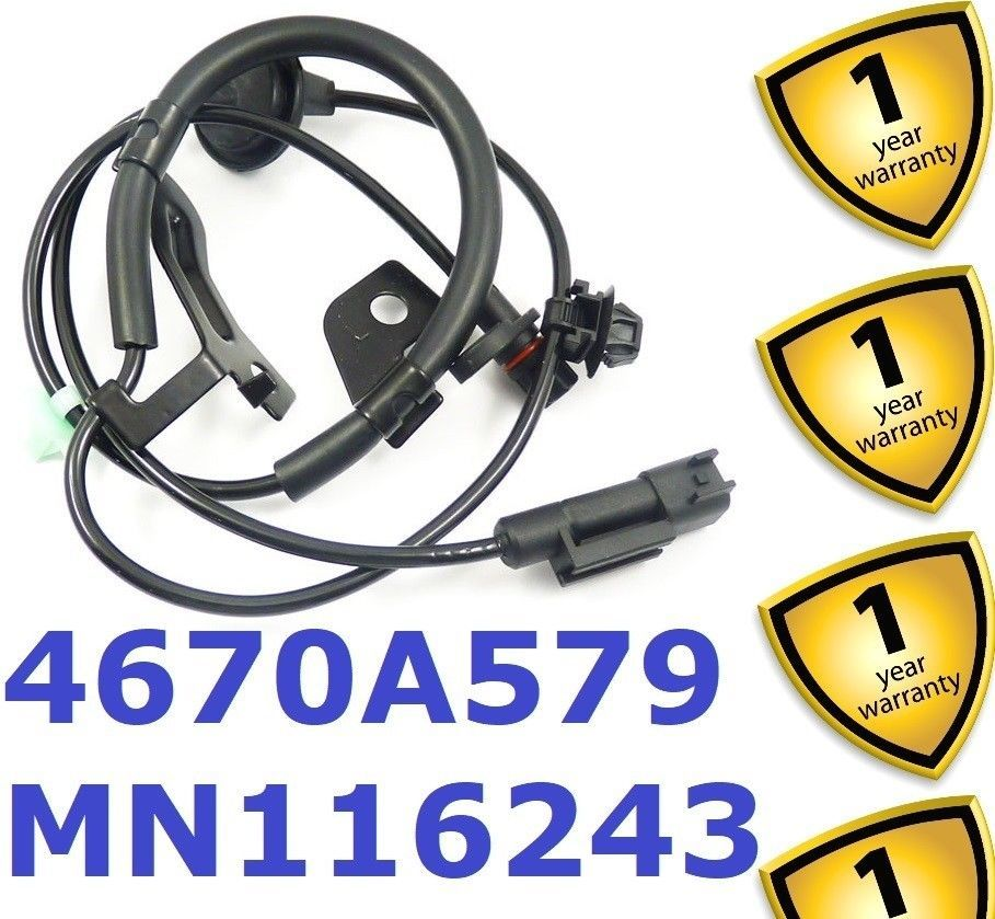 Primary image for Mitsubishi Outlander 2.0 2.2 2.4 Di-D 2006-11 Rear Left ABS Sensor MN116243