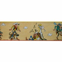 LUCKY LUKE WALL PAPER BORDER  SELF-ADHESIVE