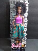 "Barbie Fashionistas #59 African American Mattel Barbie 12"" Female Doll 2016 - $46.99"