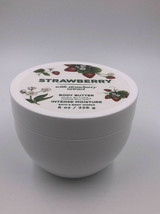 *NEW* Strawberry 8 oz Intense Moisture Body Butter Bath & Body Works - $16.69