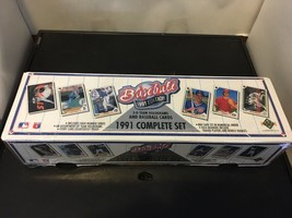 1991 UPPER DECK Baseball Card Factory Set Sealed NM/M Condition 800 Cards - $7.19