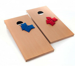 Family Cornhole Bean Bag Toss Game Set Includes 8 Blue And Red Bean Bags... - $163.30