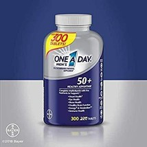 One A Day Expect More Men's 50+ Multivitamin, 300 Tablets - $43.86