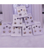 Valentine's Day, E900 Ladies Crystal Heart Stud Earrings - $1.99