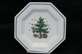 "Nikko Christmastime Salad Plates 8.25"" Lot of 12 - $107.79"