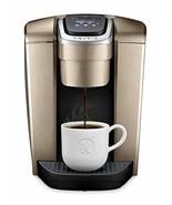 Keurig K-Elite Single Serve K-Cup Pod Coffee Maker, Brushed Gold - $280.49