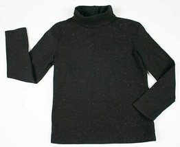 THE CHILDRENS PLACE TCP SHIMMERY BLACK STETCH  5 6 HOLIDAY TURTLENECK TO... - $9.89