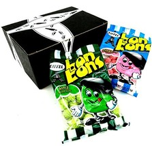 Eiffel Bon Bons 2-Flavor Variety: One 4 oz Bag Each of Strawberry and Apple in a