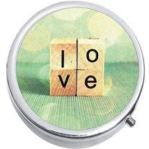 Love Medicine Vitamin Compact Pill Box - $9.78