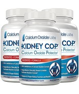 Kidney COP Calcium Oxalate Protector 120 Capsules, Patented Kidney Suppo... - $89.95