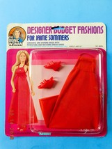 1976 BIONIC WOMAN RED DAZZLE FASHION Jaime Sommers fits Barbie size Doll... - $42.52