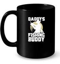 Daddy's Fishing Buddy Ceramic Mug for Men Women Kids - $13.99+