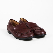 See by Chloe Red Leather Fringe Loafers SZ 36 - $90.00