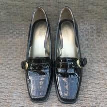 Liz Claiborne Women Jester Buckle Strap Brown Loafer 9 M Good Condition - $24.65