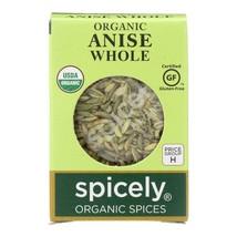 Spicely Organics - Organic Anise Whole - Case Of 6 - 0.3 Oz. - $21.96