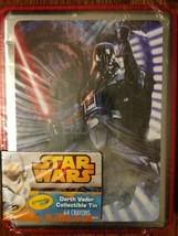 Crayola Star Wars Darth Vader Collectible Tin 64 ct Crayons--NEW - $10.40
