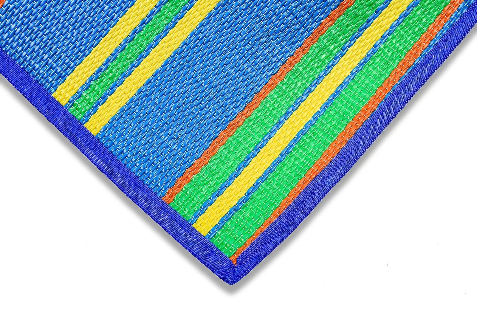"""Handy Beach Mat with Strap - 60""""x78"""" Foldable  Waterproof Outdoor Picnic Blanket"""