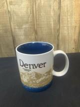 Starbucks Ceramic Coffee Cup Mug Denver Colorado 16 Ounces 2009 - $10.30