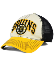 New Nhl Boston Bruins Reebok Felt Mesh Fit Cap Size S/M - $5.00