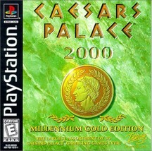 Caesars Palace 2000: Millenium Gold Edition [PlayStation] Black Label - $20.85
