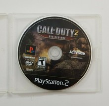 Call of Duty Big Red One PS2 Game Disc 2005 Activision No Manual/Art - $3.74