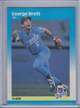 GEORGE BRETT 1987 Fleer Glossy #366  (B9920) - $2.25