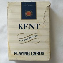 Vintage Kent Playing Cards Retro 1980s Made in Spain Cigarette Advertisi... - $10.99