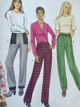 Butterick Sewing Pattern 6137 Ladies Misses Pants Size 14-22 New - $17.13
