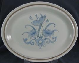 "Royal Doulton Inspiration LS1016 Oval Serving Platter 13"" Lambethware England image 1"