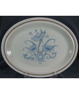 "Royal Doulton Inspiration LS1016 Oval Serving Platter 13"" Lambethware En... - $21.95"