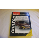 Chrysler: Front Wheel Drive Cars 6 Cyl 1988-95 Mecanics repair manual - $9.88