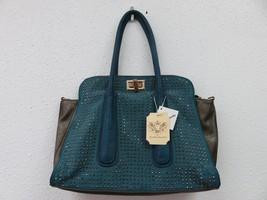 Handbag Republic Purse Turquoise Stud Embellished Shoulder Bag - $49.50