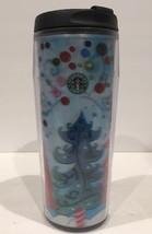 Starbucks Barista Coffee Mug Christmas  Hologram Tall Travel 16 oz Holiday 2004 - $18.81