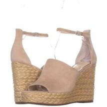 Jessica Simpson Suella Espadrilles Wedge Sandals 547, Sand Dune, 9 US / 39 EU - $28.79