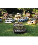 1979 Pontiac Trans Am junkyard camaro, 24 x 36 Inch Poster, formula, 6.6... - $18.99