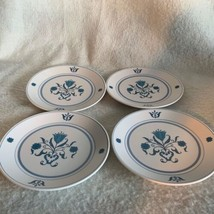Noritake Blue Haven Progression China 9004 Set of 4 Bread & Butter Plate... - $18.49